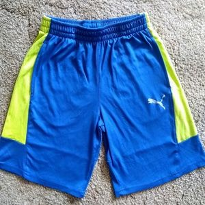 Boys large Puma shorts